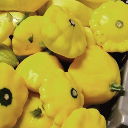 Squash, Patty Pan (two large or three small)