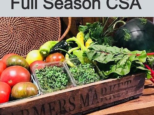 2021 Full Season CSA - 20 weeks starting in May through September