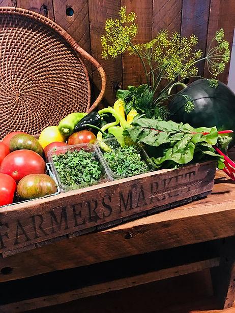 CCR Gardens CSA Veggie Box