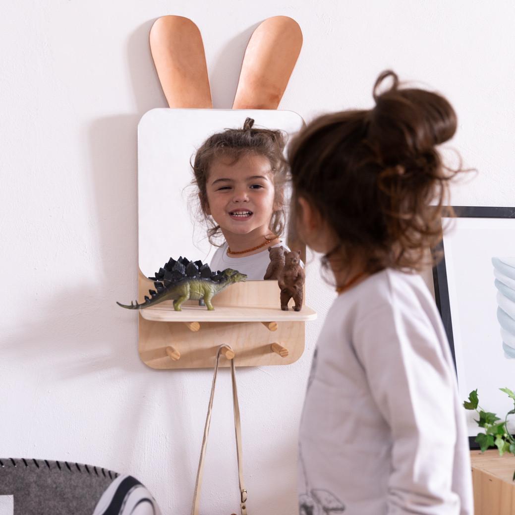 Bunny Shelf Mirror