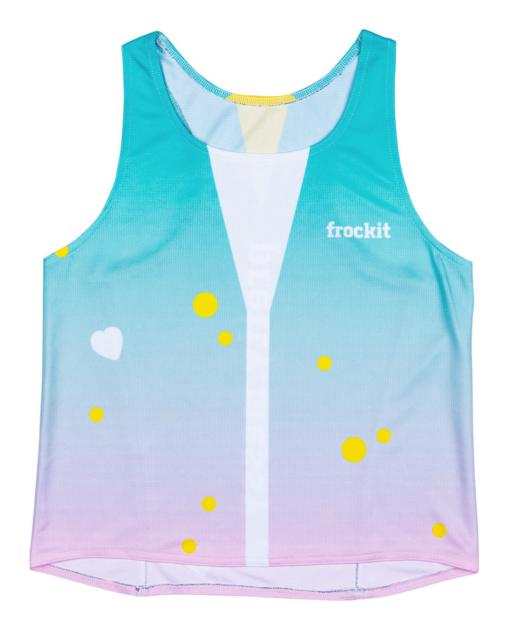 'free as' singlet d1 front