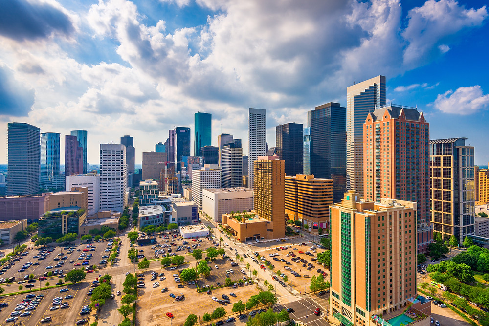Houston Texas Downtown Cityscape Skyline