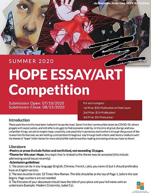 Hope Compeition Summer 2020 Flyer Final