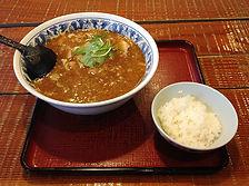 麻婆麺と白メシ