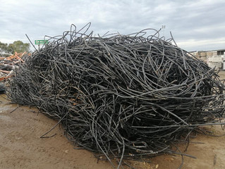 YCA Recycling is recycling the burnt plastics from the Bushfires.