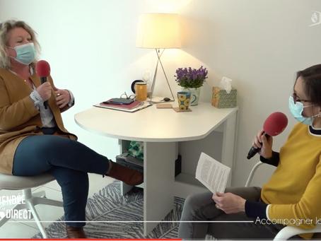 "Interview TV-Vendée ""Accompagner le deuil"""