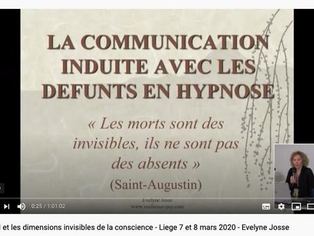La communication induite avec les défunts en Hypnose
