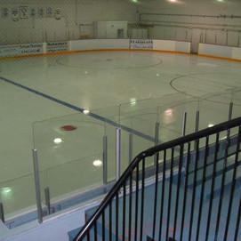 Easy sheet hockey rink