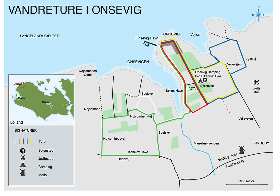 Vandreture i Onsevig