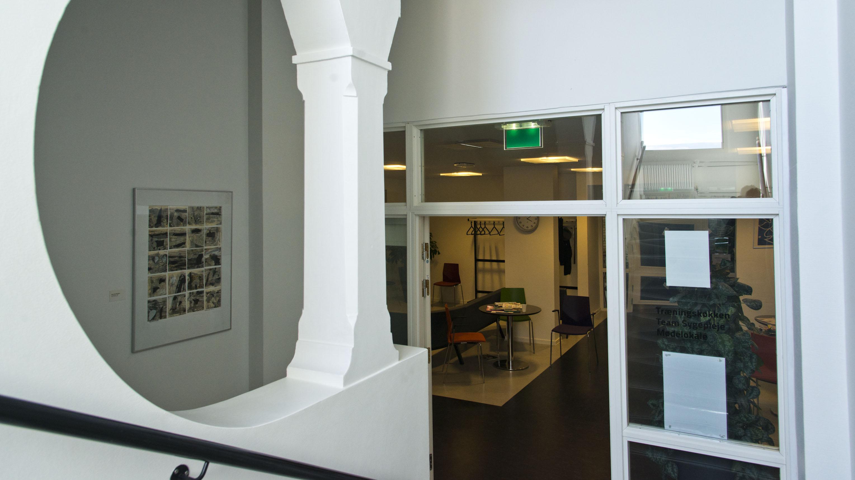 Trappe til venteværelse