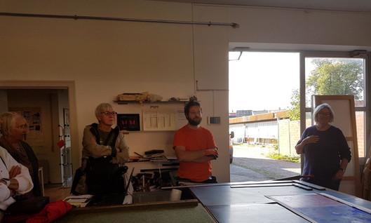 Besøg hos Flemming; Willum Glas
