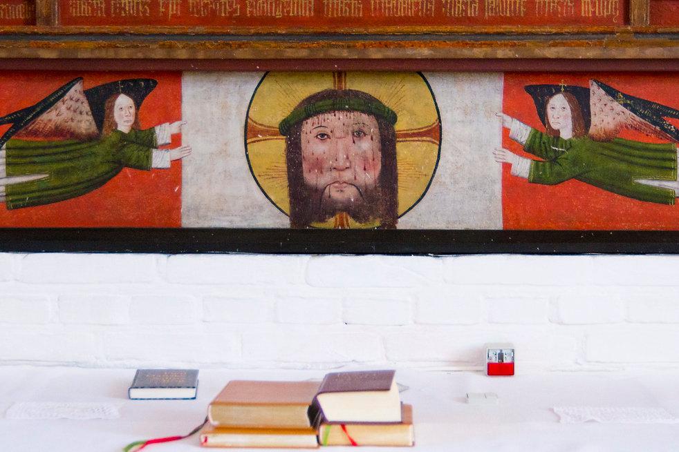 Illustration til månedens bøn