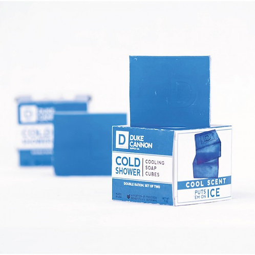 Duke Cannon Cold Shower Cooling Soap Cubes