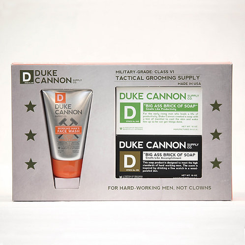 Duke Cannon Tactical Grooming Set - Shower + Face