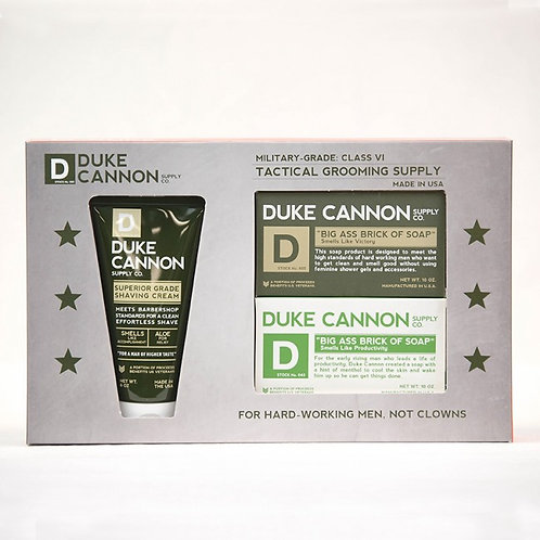 Duke Cannon Tactical Grooming Set - Shower + Shave