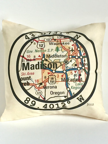 Julio Designs Latitude Throw Pillow