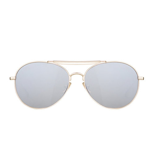 PERVERSE Solid Gold Sunglasses