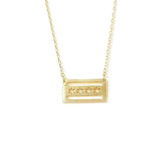 Adorn512 Chicago City Love Necklace