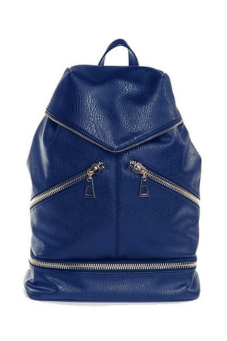 Hang Accessories Alexia Convertible Bucket Bag Backpack - Blue
