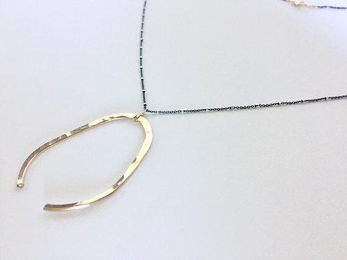 Adorn512 Wishbone Necklace