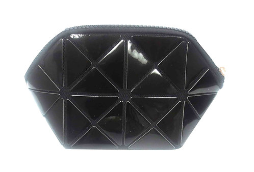 SR SQUARED by Sondra Roberts Geometric Cosmetic Case - Black