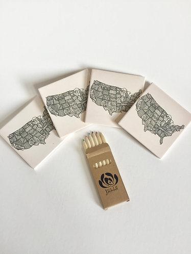 Julio Designs USA Zen Coasters