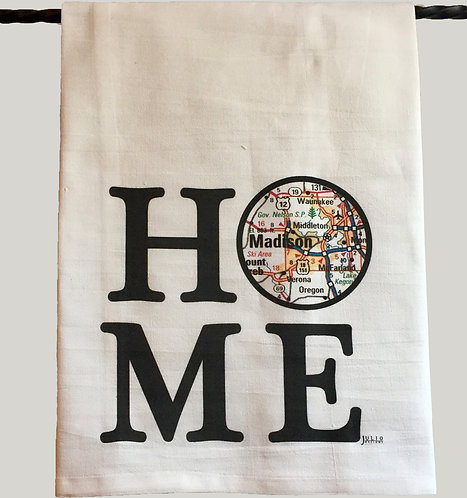 Julio Designs Home Tea Towel