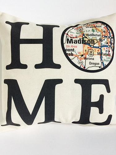 Julio Designs Home Throw Pillow