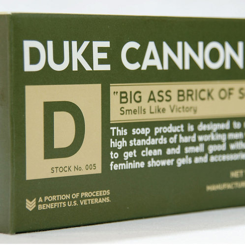 Duke Cannon Big Ass Brick of Soap - Victory