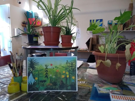 """Jungle is Calling! """"Fill Your Life With Creative Arts"""": Workshop no: 5  /29.11.2019"""