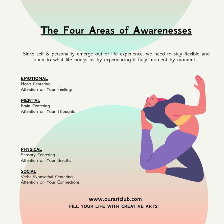 The Four Areas of Awarenesses