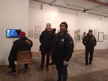 A group visit to Jennifer Lauren Gallery, 28.02.2020 @ Angel in London