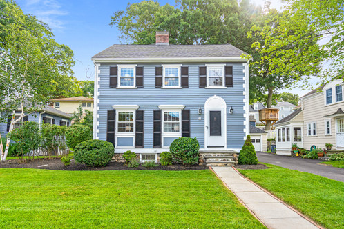 39 Damon Avenue | Melrose, MA 02176 Listed at: $779,900  3 Bedrooms 1 Full | 1 Half Bathrooms 1,680 Sq. Ft.   Situated in the heart of the Horace Mann neighborhood where tree lined streets and afternoon strolls are bustling with neighbors, this locale is both charming and convenient. Minutes to Melrose Highlands station, quaint coffee shops, restaurants and yoga. Classic side entrance Colonial boasting original architectural details such as built in bookcases, corner china cabinets, chair rails and picture mouldings. Classically updated this kitchen is a work horse with granite counters, white cabinetry and a functional layout. Charming nooks and crannies continue onto the second floor with original basketweave tiled bath and three generous bedrooms. Walk-up attic offers expansion possibilities or endless storage.Truly finished lower level offers built in bookcases and a second wood burning fireplace - it may become your favorite room in the house! Shaded backyard offers room for recreation or gardening, your own restful retreat. Close proximity to Whole Foods Plaza, commuter rail and bus.