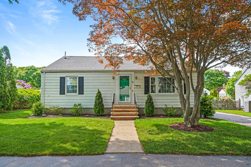 16 Iverson Road | Beverly, MA 01915 Listed at: $599,000  3 Bedrooms 2 Bathrooms 1,635 Sq. Ft.  Open, completely renovated, and set on a tree-lined street in the Beverly Cove area close to beaches, parks, Montserrat train station, and downtown Beverly, this home was the subject of an HGTV House Hunter Renovation Episode in 2018. Kitchen design experts collaborated with the sellers to create a state-of-the-art kitchen as the focal point of the home with sleek, industrial modern fixtures, stainless-steel appliances, and warm wooden flooring throughout. A cozy dining banquette looks out through sliding glass doors to a deck and fenced backyard and the front of the kitchen opens to a fire-placed living room. A primary king-sized bedroom, two more spacious bedrooms and a white subway-tiled bathroom complete your one-floor living experience. But wait, there's more! A beautifully finished family room, secluded home office, and second full bathroom with a huge tiled shower stall along with tons of storage doubles your space to meet every need. Space, style, location-this home has it all!