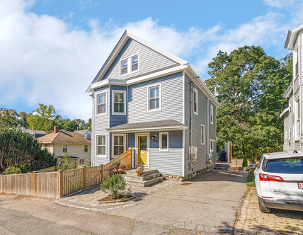 10 Owego Park | Melrose, MA SOLD: $967,500  5 Beds 2 Full | 1 Half Baths 2,180 Sq. Ft.  Incredible, impeccable full renovation of this beauty awash in natural light! Nestled in Cedar Park, near the train, shops, town and recreation, this home boasts a dream wishlist (2.5 baths, central air, solar panels, chic appointments and terrific scale) paired with classic architectural details. Expressly stewarded, the owners have crafted multi-functional spaces utilizing all 3 levels of living to suit your lifestyle, enhancing every iota leaving no stone unturned.