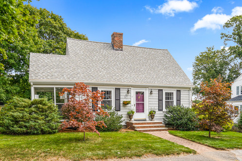 7 Terrace Ct. | Wakefield, MA SOLD: $535,000  2 Beds 1 Bath 1,078 Sq. Ft.  Charming, beautifully set and meticulously stewarded, this classic Cape Code style property exudes a warmth and sense of home that will delight. Nestled in the Greenwood neighborhood, steps to the train and shops and a short jaunt to Melrose's Highlands area amenities, the location is top-notch. Enjoy preserved original details sprinkled throughout in an ode to this home's 1960's era roots. The living room centers around a wood burning fireplace and is bathed in lovely natural light on three sides, while the adjoining three season porch is an escape, a perfect spot to settle in with a cup of tea and good book, or a change of scenery for your latest zoom call.