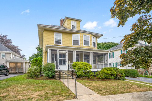 45 First St. | Melrose, MA SOLD: $713,000  3 Beds 1 Full | 1 Half Baths 1,854 Sq. Ft  Quality woodwork is abundant. State-of-the-art heating system. The flow and light whisper 'happy home'. New owners can build out the kitchen and baths to meet their desires. After the renovation, the plumbing and electric will be upgraded. The sunroom is a warm, inviting hang out or office space. The second floor central hall is gracious and there is a fourth room for a nursery, additional office or 2nd full bath.