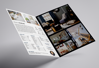 Example of Leading Edge marketing property brochure