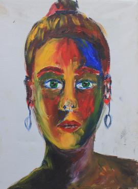 Self-portrait [triptic 3]