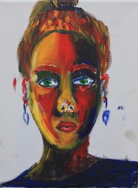 Self-portrait [triptic 2]