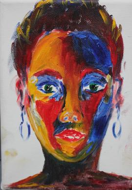 Self-portrait [triptic 1]