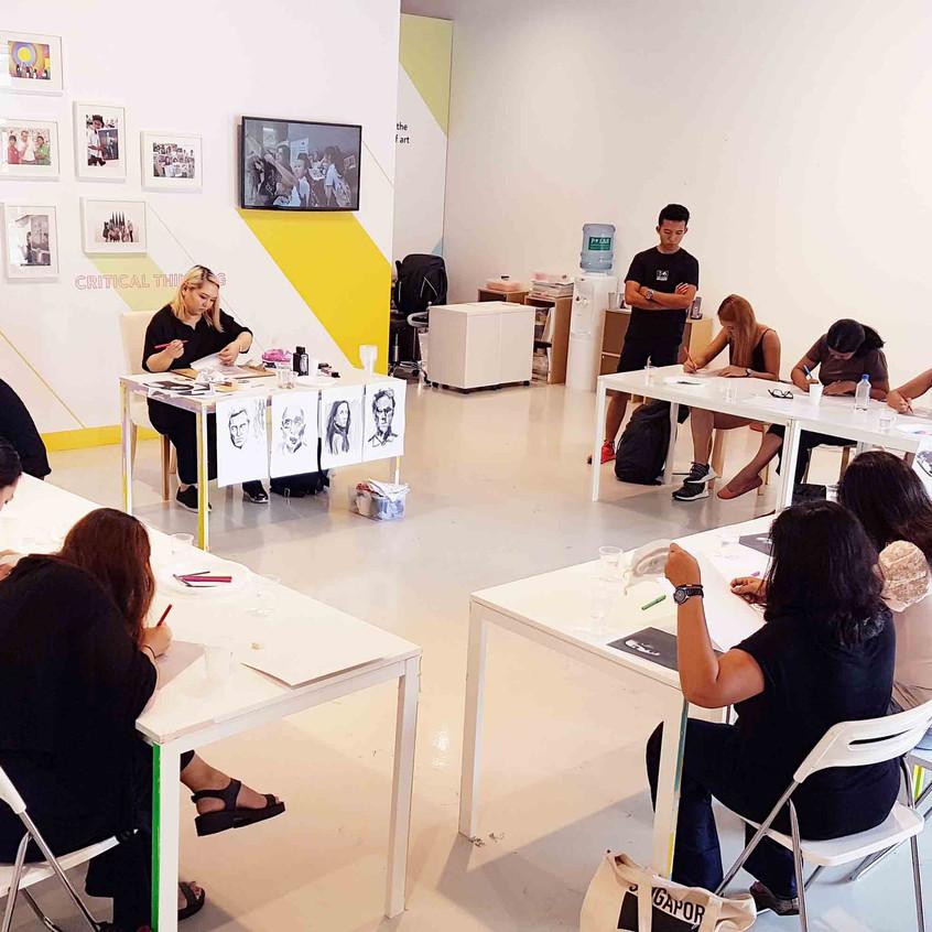 Ink Portrait Workshop