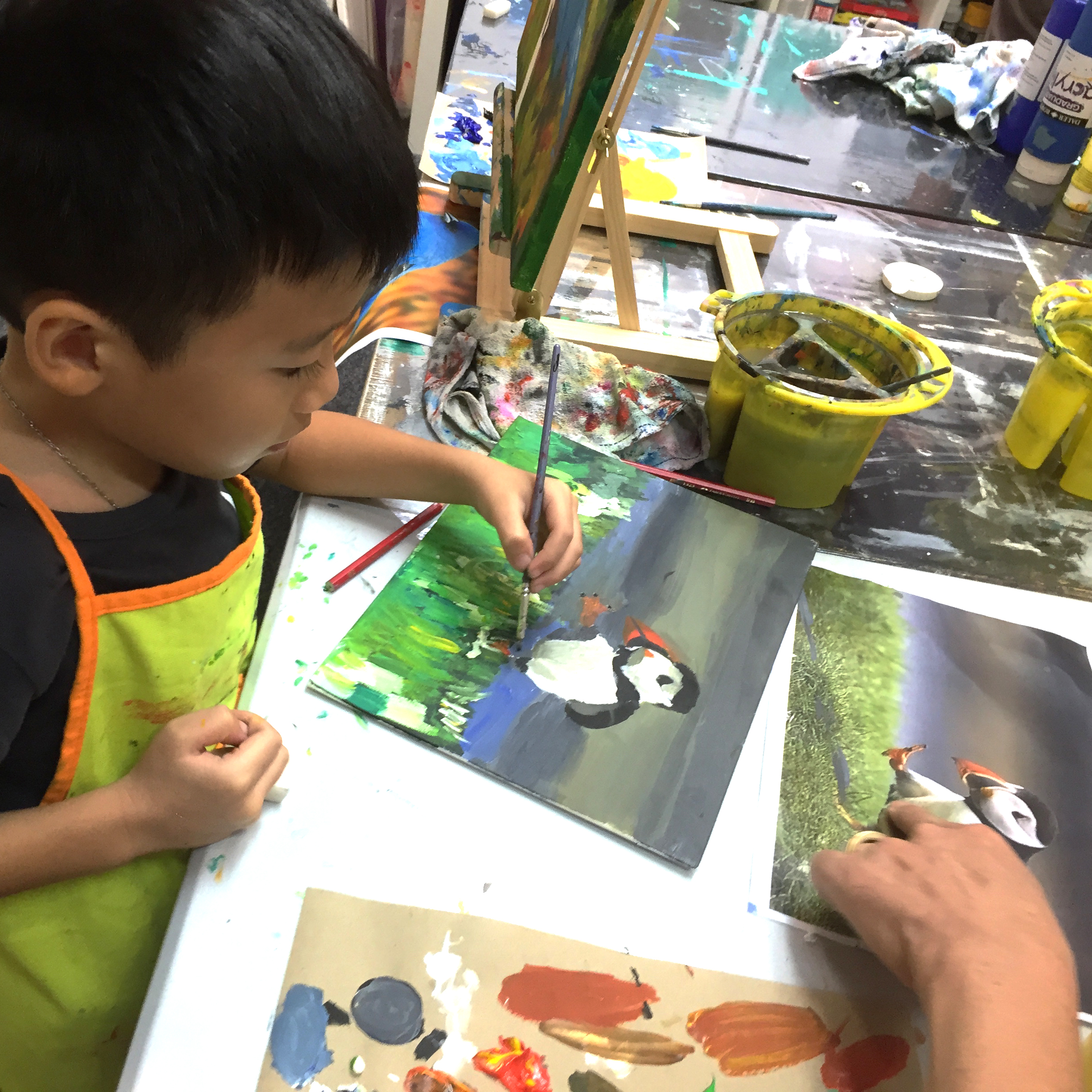 Best Children Art Classes Singapore