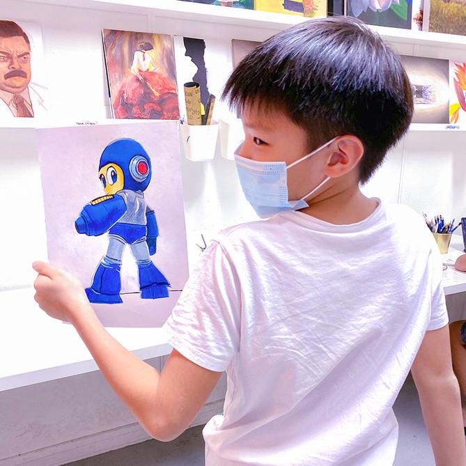 Best Painting Classes for Children Singa