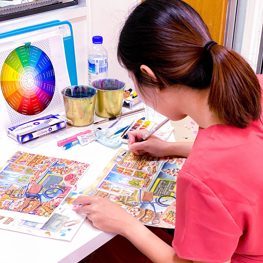 Best Private Art Classes in Singpore for