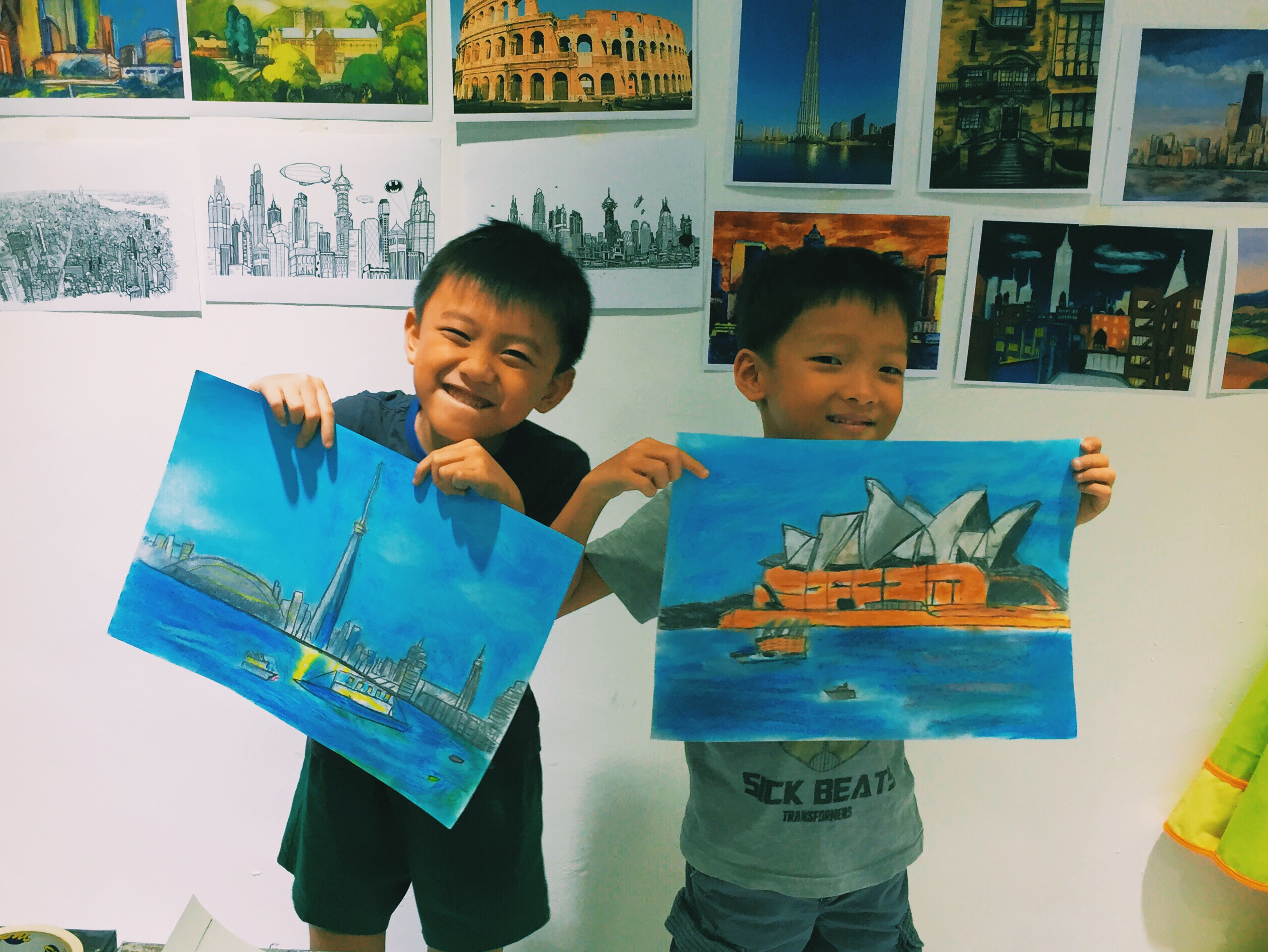 Children Art Classes Singapore