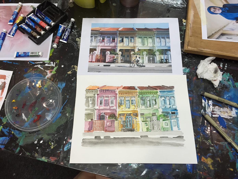 Youth Art Class Singapore
