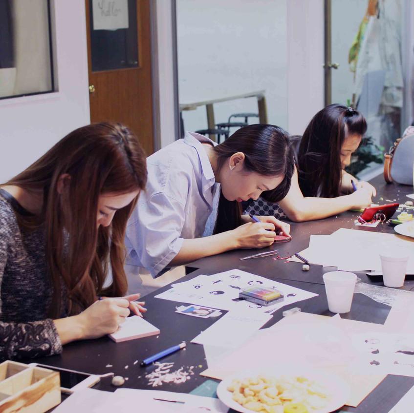 Portrait Stamp Carving Workshop