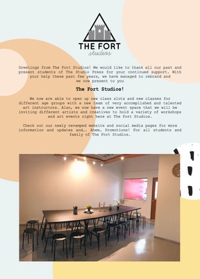 The Fort Studios. A big thank you to all who have supported us! <3