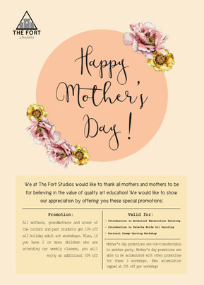 Mother's Day Promotion!